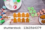 flat lay. step by step.... | Shutterstock . vector #1363564379