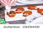 step by step. decorating... | Shutterstock . vector #1363564430