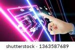 new media concept | Shutterstock . vector #1363587689