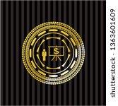 business presentation icon... | Shutterstock .eps vector #1363601609
