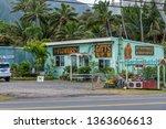 oahu  hawaii   march 28  2019 ... | Shutterstock . vector #1363606613