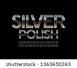 vector reflective emblem silver ... | Shutterstock .eps vector #1363650263