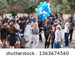 jerusalem  israel   march 28 ... | Shutterstock . vector #1363674560