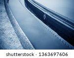 sewage treatment plant pool    Shutterstock . vector #1363697606