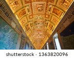 vatican   march 30  view of the ... | Shutterstock . vector #1363820096