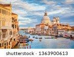 classic panoramic view of... | Shutterstock . vector #1363900613