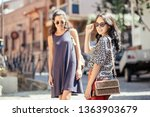 stylish positive young... | Shutterstock . vector #1363903679