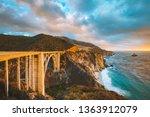 scenic panoramic view of... | Shutterstock . vector #1363912079