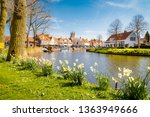 beautiful view of the historic... | Shutterstock . vector #1363949666