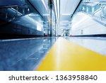 interior of a modern station ...   Shutterstock . vector #1363958840