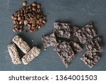 Several Chocolates On Stone...