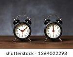two black vintage   retro... | Shutterstock . vector #1364022293