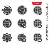 global business icon set on...   Shutterstock .eps vector #1364032310