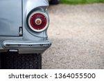 Detail On The Vintage Car Back...