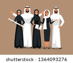 vector design with successful... | Shutterstock .eps vector #1364093276