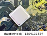 electronic circuit board close... | Shutterstock . vector #1364131589