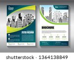 business abstract vector... | Shutterstock .eps vector #1364138849