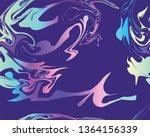 marble texture seamless pattern.... | Shutterstock . vector #1364156339