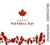 victoria day in canada vector... | Shutterstock .eps vector #1364212760