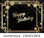 gatsby style birthday...   Shutterstock .eps vector #1364212826