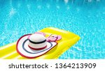 beach summer holiday background....   Shutterstock . vector #1364213909