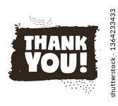 thank you   illustration.   Shutterstock . vector #1364233433