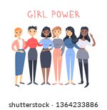 set of a group of different... | Shutterstock .eps vector #1364233886