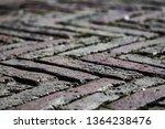 cobble stone pattern floor...   Shutterstock . vector #1364238476