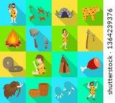 isolated object of evolution... | Shutterstock .eps vector #1364239376