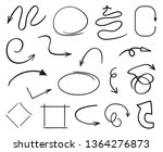 infographic elements on... | Shutterstock .eps vector #1364276873