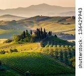 Tuscany   Scenic Landscape ...