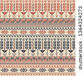 seamless pattern design with... | Shutterstock .eps vector #1364324273