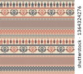seamless pattern design with... | Shutterstock .eps vector #1364324276