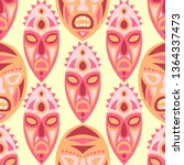 vector illustration. tribal... | Shutterstock .eps vector #1364337473