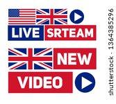 live stream icon. flat design...