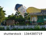 the towering statue of the... | Shutterstock . vector #1364385719