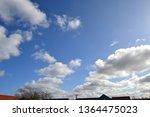 Cumulus Clouds Backlit