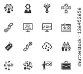 Seo   Internet Marketing Icons...