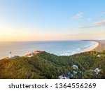 byron bay lighthouse at sunrise ... | Shutterstock . vector #1364556269