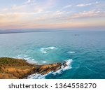 byron bay from an aerial view | Shutterstock . vector #1364558270