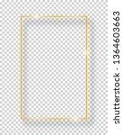 vector golden shiny vintage...   Shutterstock .eps vector #1364603663