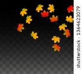 november  vector background...   Shutterstock .eps vector #1364623079