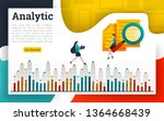 analyze documents and explain...   Shutterstock .eps vector #1364668439