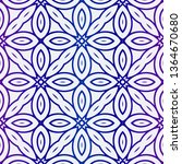 decorative geometric ornament....   Shutterstock .eps vector #1364670680