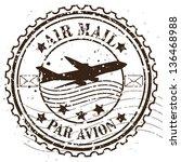 grunge rubber stamp   vector... | Shutterstock .eps vector #136468988
