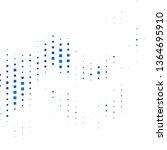 dark blue  green vector... | Shutterstock .eps vector #1364695910