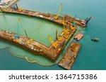 kai tak  hong kong 03 april...   Shutterstock . vector #1364715386