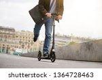 businessman on daily commute... | Shutterstock . vector #1364728463