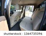 interior back seat of pickup... | Shutterstock . vector #1364735396