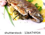 Grilled Whole Trout With Potat...